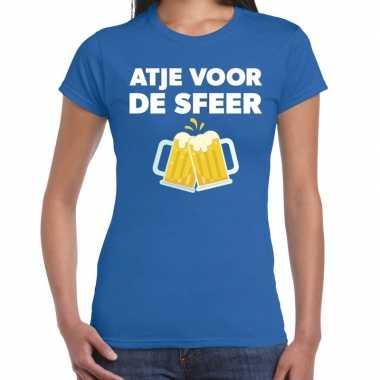 Atje sfeer feest blauw dames t-shirt kopen