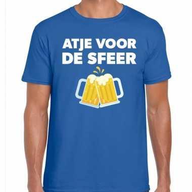 Atje sfeer feest blauw heren t-shirt kopen
