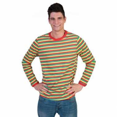 Gestreept heren dorus t-shirt