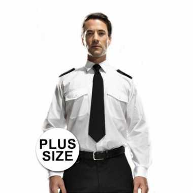 Overhemd Kopen.Grote Maten Piloten Overhemd Lange Mouw T Shirt Kopen T Shirt Kopen Nl
