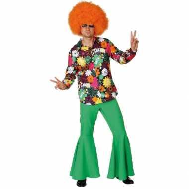 Hippie overhemd bloemen t-shirt kopen