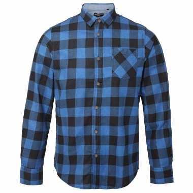Zwart Overhemd Kopen.Houthakkers Overhemd Blauw Zwart T Shirt Kopen T Shirt Kopen Nl