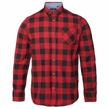 T Shirt Overhemd.Houthakkers Overhemd Rood Zwart T Shirt Kopen T Shirt Kopen Nl