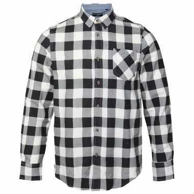 Zwart Wit Geruit Overhemd.Houthakkers Overhemd Wit Zwart T Shirt Kopen T Shirt Kopen Nl