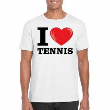 I love tennis wit heren t-shirt