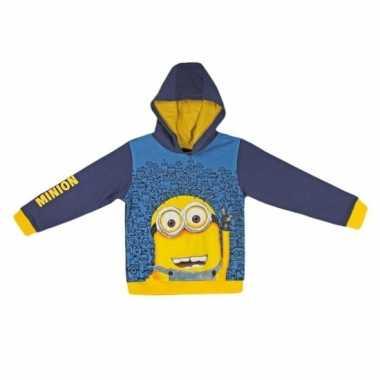 Minions hooded sweat t-shirt kopen
