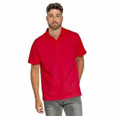 Polo rood heren t-shirt kopen