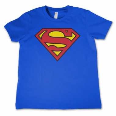 Superman logo kids t-shirt