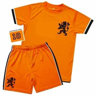 Voetbal tenue kinderen t-shirt