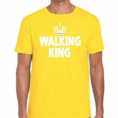 Wandel walking king geel heren t-shirt kopen