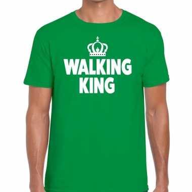 Wandel walking king groen heren t-shirt kopen