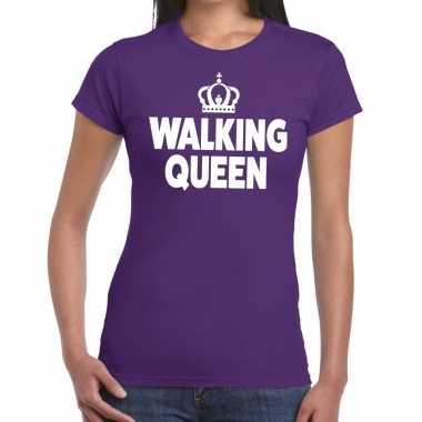 Wandel walking queen paars dames t-shirt kopen