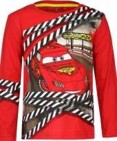 Cars lightning mcqueen rood t-shirt