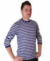 Dorus trui blauw wit heren t-shirt