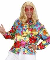 Hippie bloemen t-shirt
