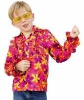 Hippie blouse rouches kinderen t-shirt
