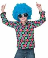 Jaren disco overhemd kids t-shirt