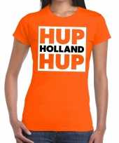 Nederlands elftal supporter hup holland hup oranje da t-shirt 10151375