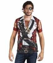 Piraat opdruk t-shirt