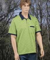 Polo bretonse streep t-shirt