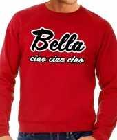 Rode bella ciao sweater heren t-shirt