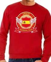 Rood spain drinking team sweater heren t-shirt