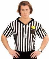 Scheidsrechter verkleed heren t-shirt