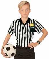 Scheidsrechter verkleed jongens t-shirt