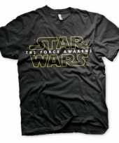 Star wars heren zwart t-shirt