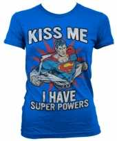 Super powers dames t-shirt