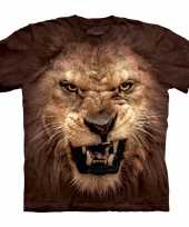 The mountain leeuwen bruin t shirt