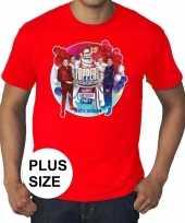 Toppers grote maten roodtoppers concert officieel heren t-shirt