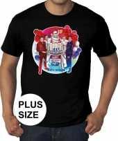 Toppers grote maten zwart toppers concert officieel heren t-shirt