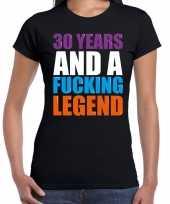 Year legend jaar legende cadeau zwart dames t-shirt 10197938