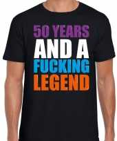 Year legend jaar legende cadeau zwart heren t-shirt 10198499